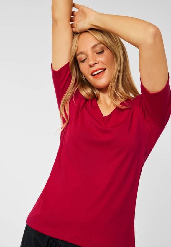 "Street One | Basic Shirt ""Palmira"" | Farbe: full red 13319, 313105"