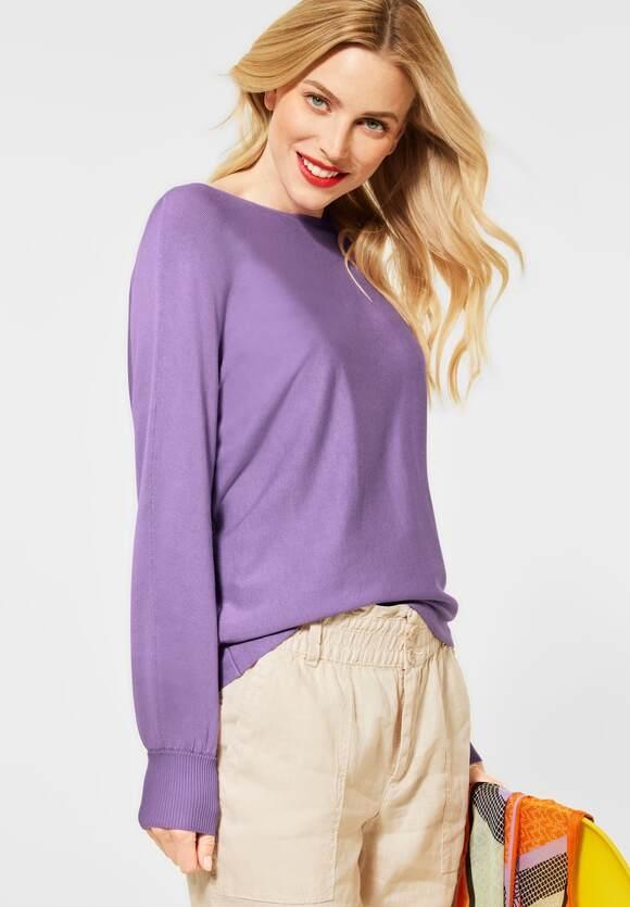 Street One | Pullover mit Dolmanärmeln | Farbe: clear lilac 12898, 301529