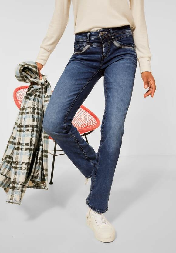 Street One | Casual Fit Denim | Farbe: blue wiser washed 13501, 374548