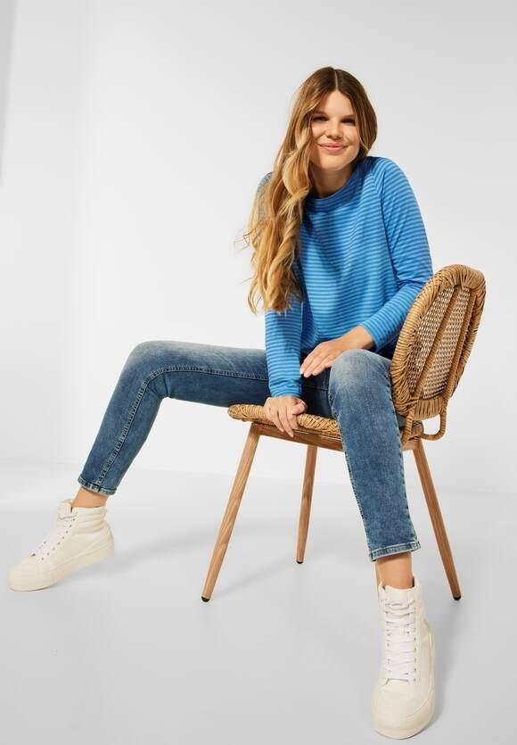 CECIL   Shirt mit Streifen Muster   Farbe: mountain blue 23005, 316947