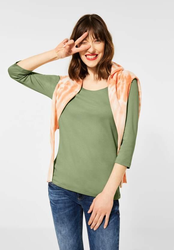 Street One I Basic Shirt Pania I Farbe: faded green 12902, 313977