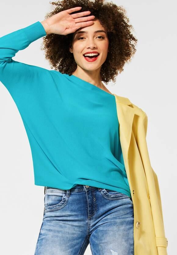 Street One   Pullover mit Dolmanärmeln   Farbe: shining aqua 12854, 301498