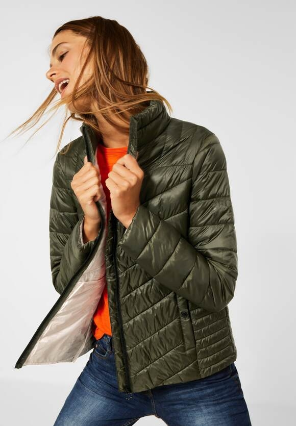 CECIL   Jacke in Stepp Optik   Farbe: contemporary khaki 12936, 201575