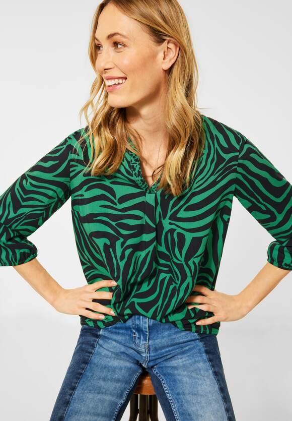 Cecil   Bluse mit Zebramuster   Farbe: spearmint green 22648, 342513
