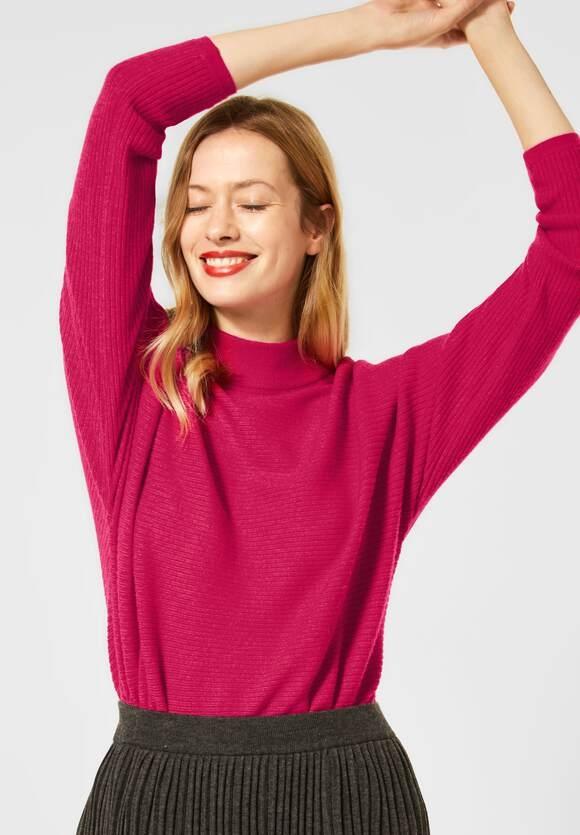 Street One | Pullover mit Dolmanärmeln | Farbe: raspberry pink 12686, 301409