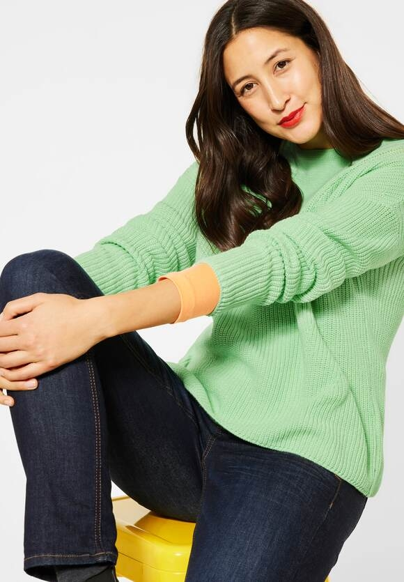 Street One | Grobstrickpulli | Farbe: frosted pistachio 12828, 301487