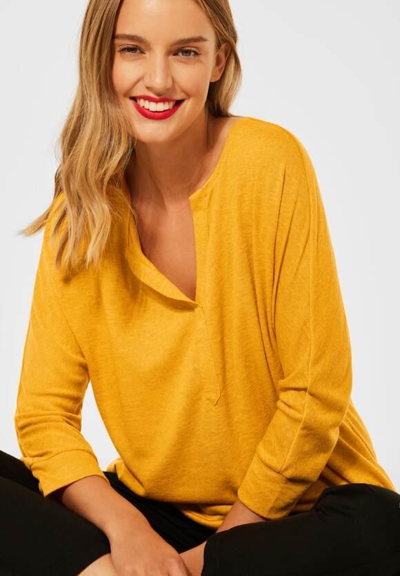 Street One   Shirt im Leinen Look   Farbe: sulphur yellow 13165, 316765