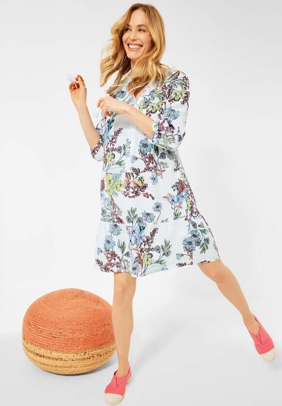 Cecil | Kleid im Tunika Style | Farbe: White 30000, 142857