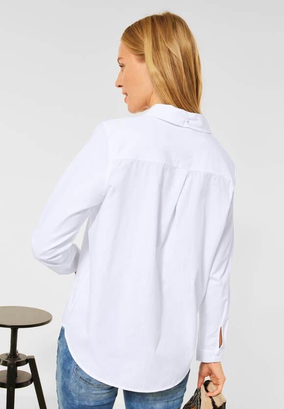 Street One | Basic Bluse | Farbe: white 10000, 342786