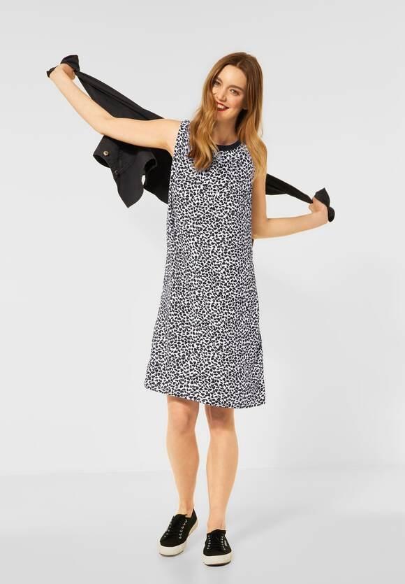 Street One   Kleid mit Print   Farbe: neo grey 21017, 142928