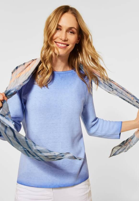 Cecil | Pullover in Unifarbe | Farbe: provence blue 22865, 301521