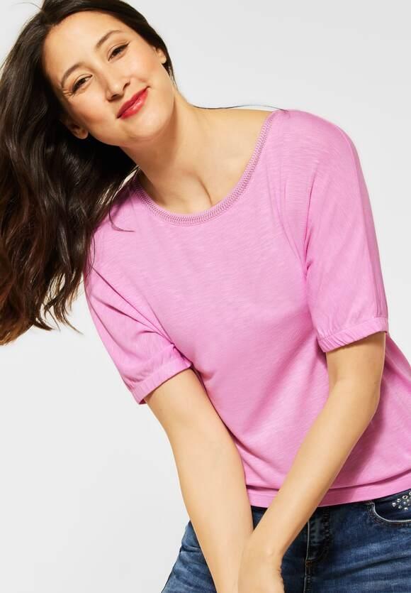 "Street One   T-Shirt ""Edona"" in Unifarbe   Farbe: pearl rose 12979, 316290"
