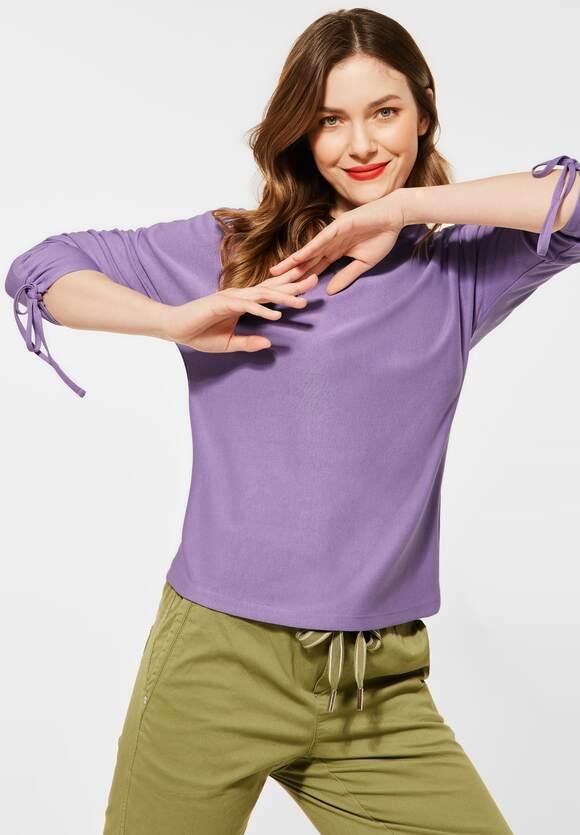 Street One   Shirt mit Raffungen   Farbe: clear lilac 12898, 316018