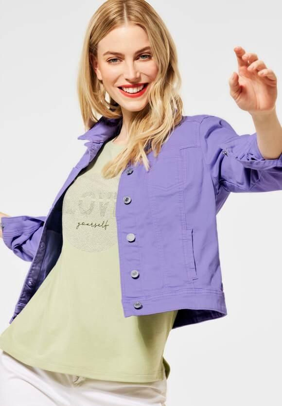 "Street One | Kurze Indoor Jacke ""Roxana"" | Farbe: clear lilac soft wash 12930, 211331"