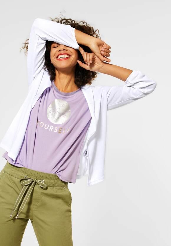 "Street One   Verschlusslose Shirtjacke ""Nette""   Farbe: white 10000, 316014"