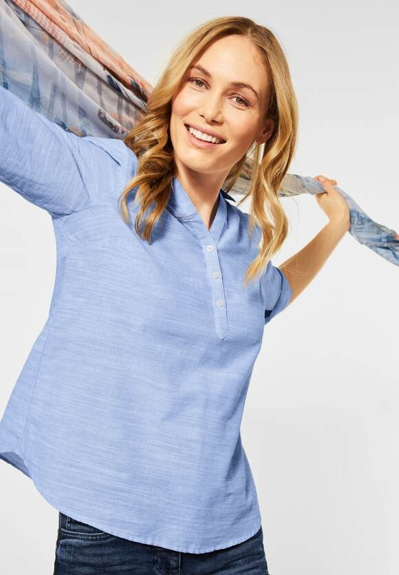 Cecil   Chambray Bluse   Farbe: blouse blue 11838, 342553