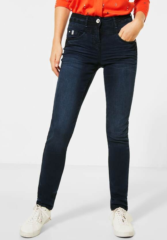 "Cecil | Dunkelblaue Denim ""Toronto"" 