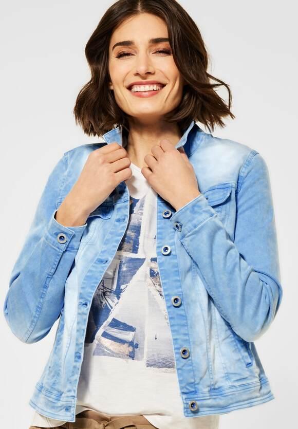 Cecil | Denim Jacke im Colour Style | Farbe: provence blue 12865, 211359
